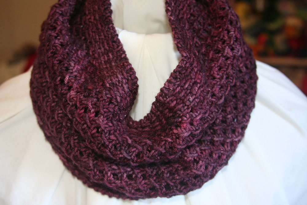 Black Raspberry Cowl