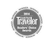 2014 Conde Nast Traveler: Reader's Choice Awards   One of the World's Top 10 Midsize Ship Lines ranked as #4