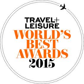 Travel + Leisure   World's Best Award 2015