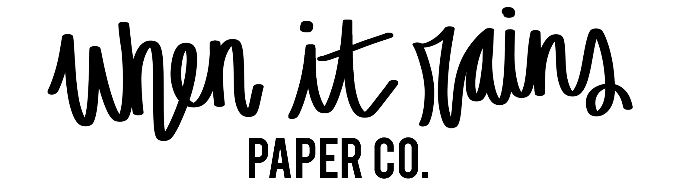 When it Rains Paper Co. | Colorful and fun paper goods, office supplies, and personalized gifts.