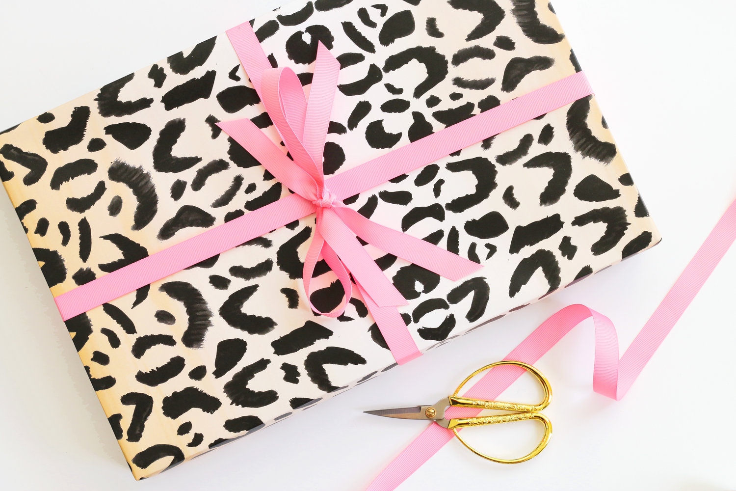 Leopard Print Wrapping Paper