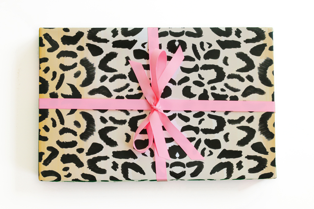 Leopard Print Wrapping Paper ...