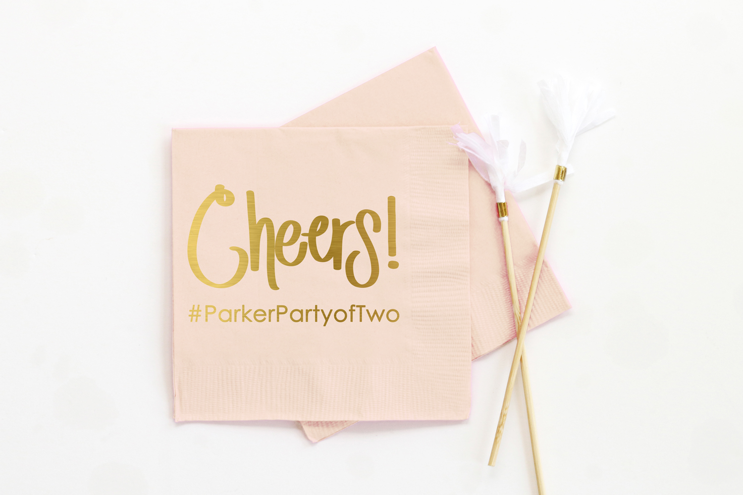 Cheers Wedding Napkins When It Rains Paper Co Colorful And Fun Paper Goods Office Supplies And Personalized Gifts