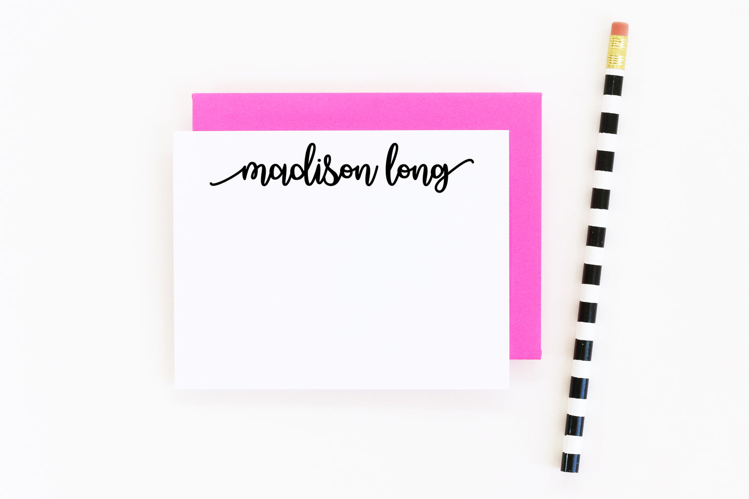 Personalized Note Cards Calligraphy Stationery Personalized Stationery Set Personalized Thank You Note Cards Custom Stationery Set