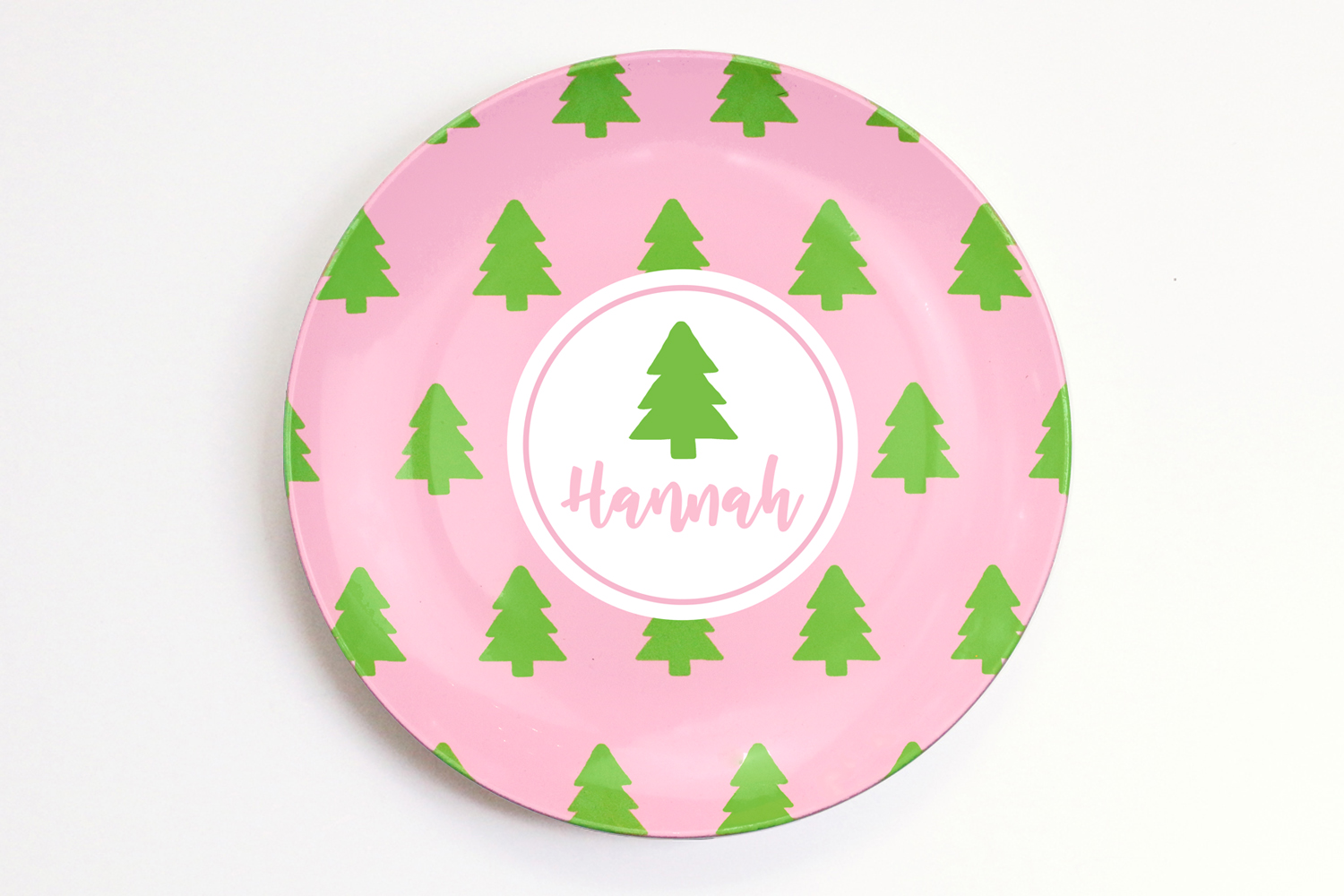 Personalized Christmas Plate For Kids When It Rains Paper Co Colorful And Fun Paper Goods Office Supplies And Personalized Gifts