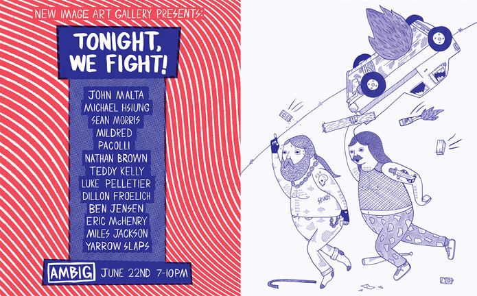 GROUP SHOW - TONIGHT WE FIGHT
