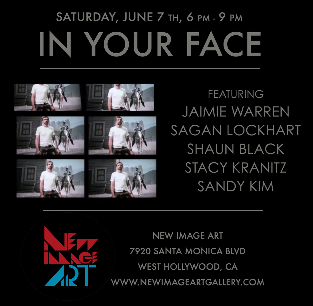 GROUP SHOW - IN YOUR FACE