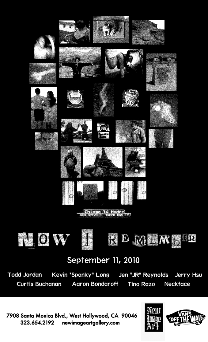 GROUP SHOW - NOW I REMEMBER