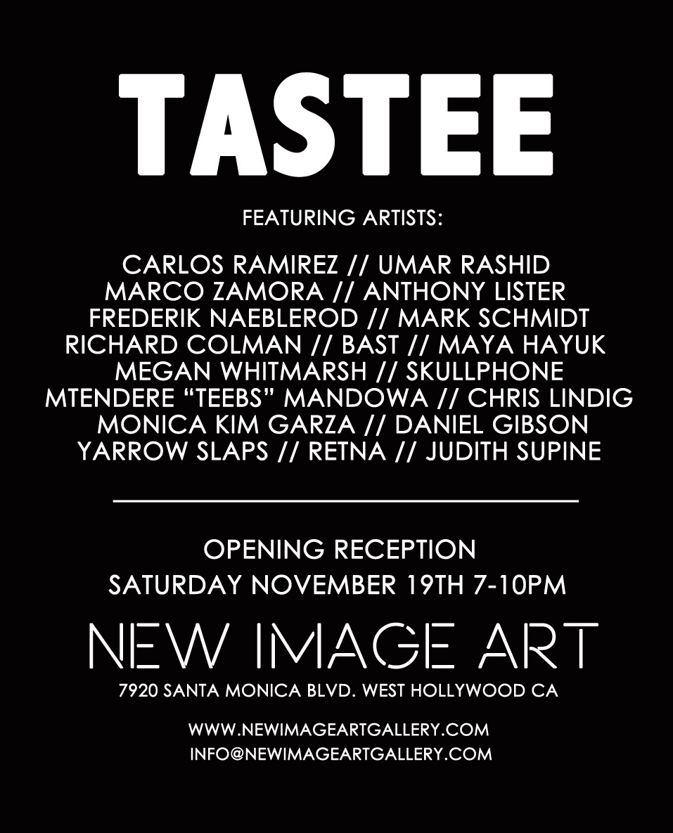 GROUP SHOW - TASTEE