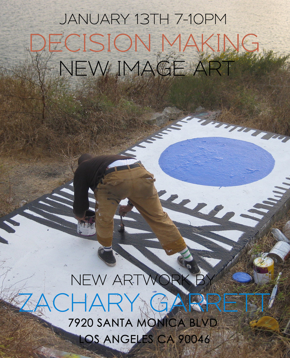 ZACHARY GARRETT - DECISION MAKING
