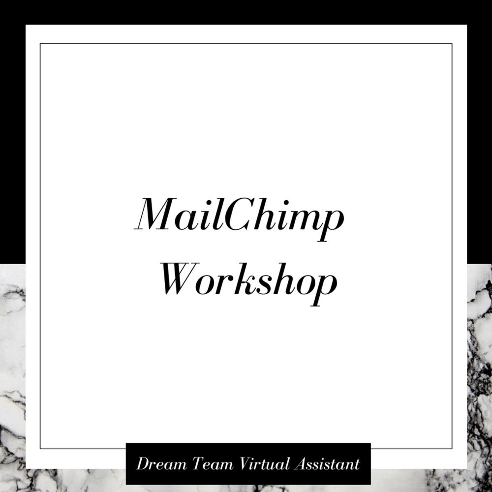 mailchimp-workshop