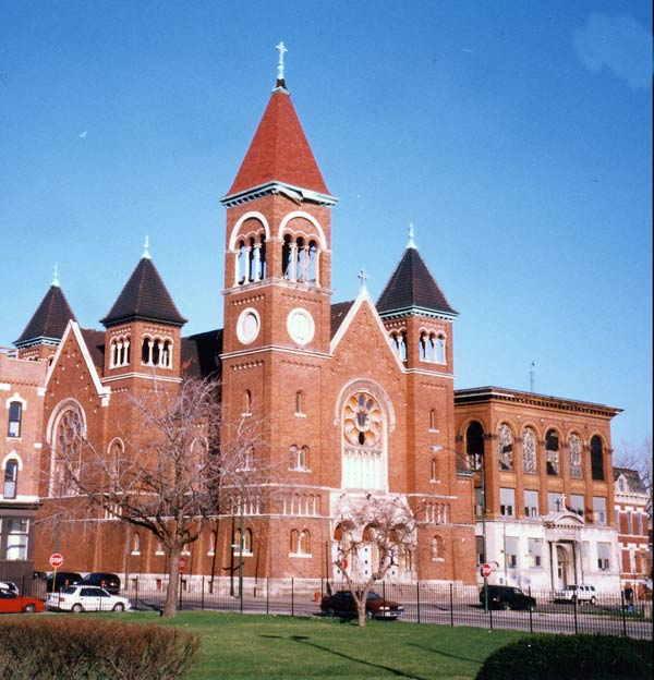 Saint Boniface Church was designed by Henry J. Schlacks—a famed architect and student of Louis Sullivan—and was completed in 1904.