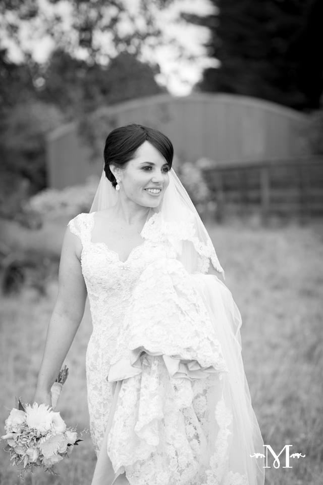 Larissa - silk satin crepe, corded lace - Christchurch - Moda photographica Photography