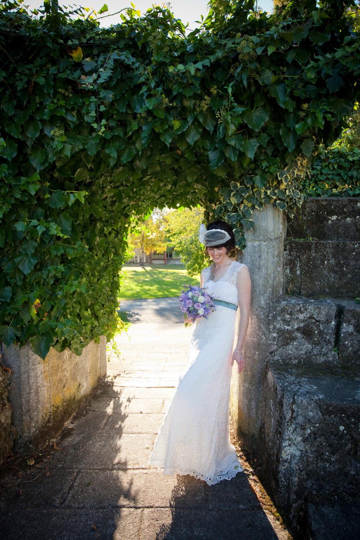 Olivia - silk satin crepe, guipure lace - Hawkes Bay bride