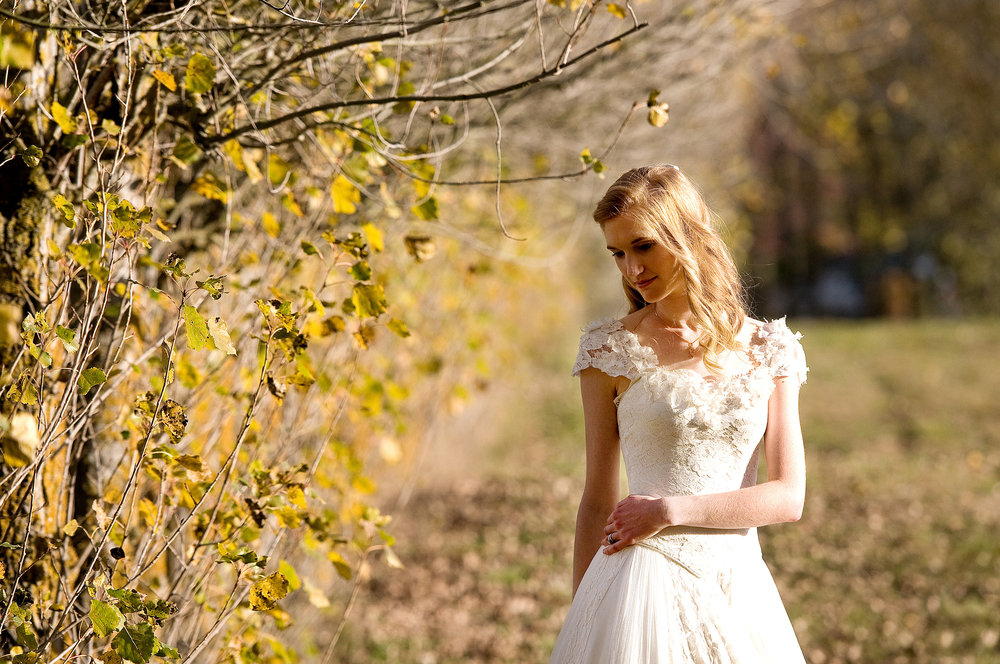 Justine - silk satin crepe, silk tulle, antique lace - Christchurch bride - Tracey Allsop Photography