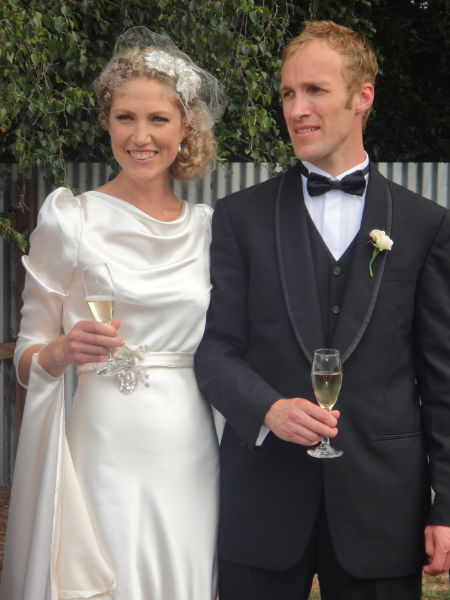 Kirsty - silk satin crepe - Christchurch Bride