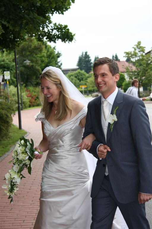 Kirstin - silk duchess gown - Germany bride