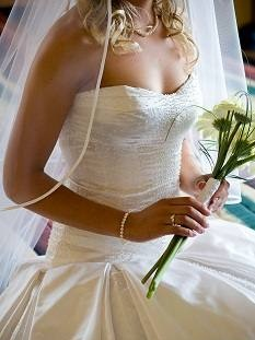 Alicia - South Canterbury Timaru Bride - Pure silk duchess, pearl beads - Jackie de Boer Photography