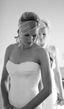 Alicia - pure silk duchess, pearl beads - South Canterbury Timaru Bride - Jackie De Boer Photography