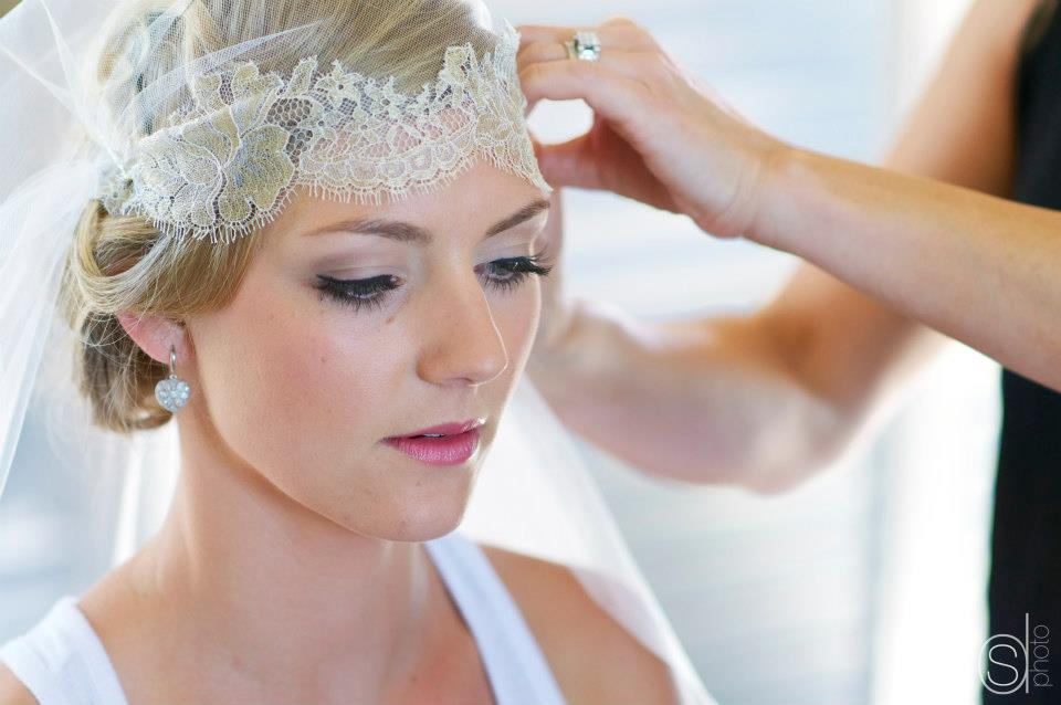 eve - silk peau de soie, french lace, beaded trim - Mt Cook bride - Sarah Drummond Photography