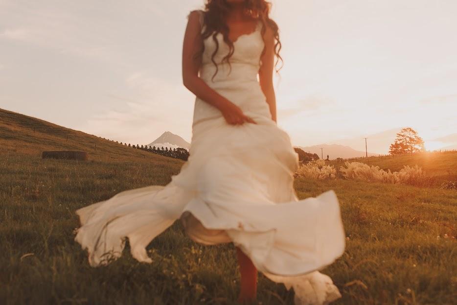 Olivia - silk satin crepe, silk tulle, corded lace - Taranaki bride