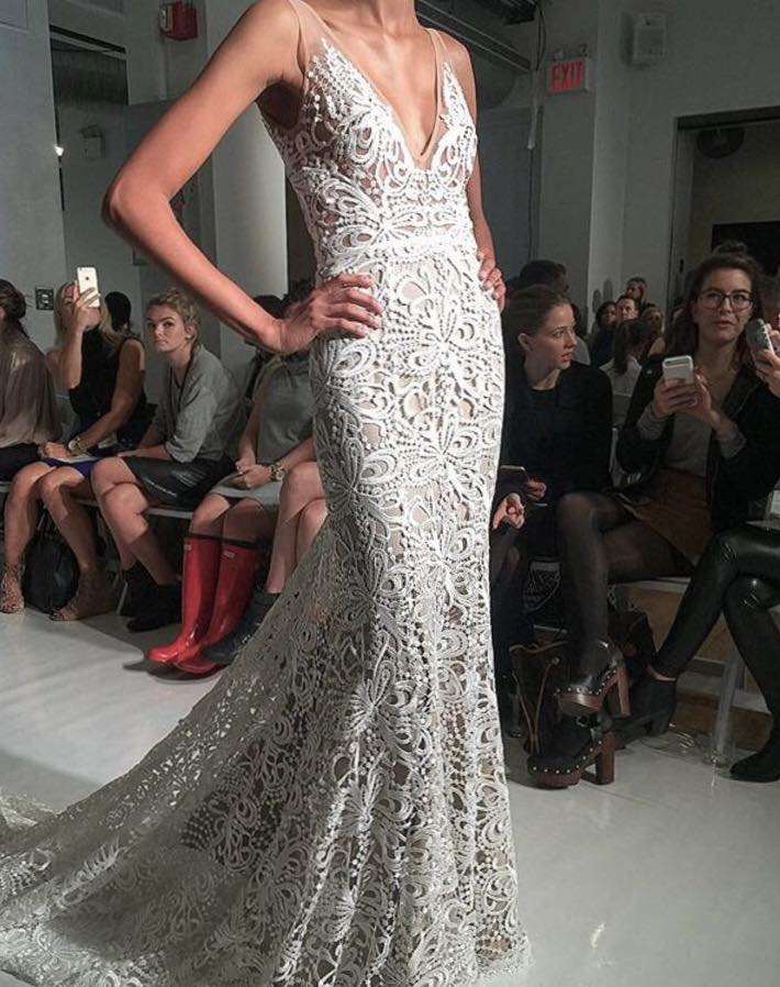 Sasha by made with love gown - New York bridal fashion week