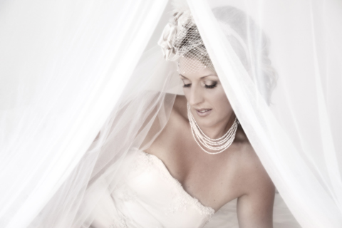 Jade - silk dupion, beaded lace - Auckland bride - Tandem Photography