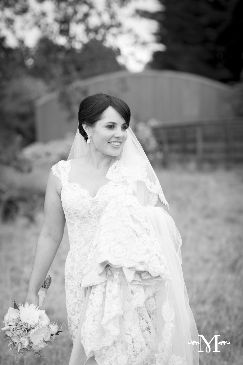 Larissa - silk satin crepe, corded lace - Christchurch Bridal - Moda Photographica Photography
