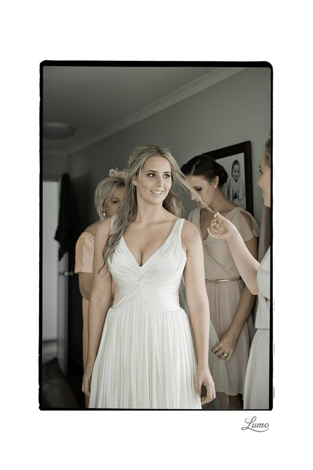 Charlotte - SIlk Satin crepe, silk satin chiffon - Wanaka wedding - Lumo Photography