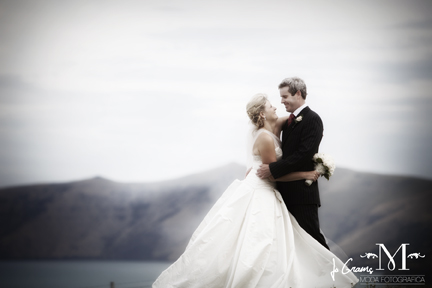 Robyn - silk duchess, beaded trim - Akaroa Bride - Moda Photographica Photography