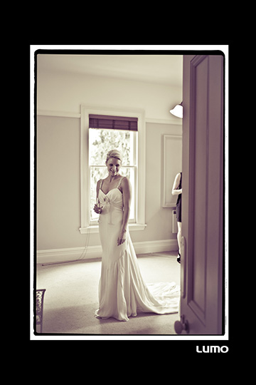 Sarah - silk crepe faille - Oamaru bridal - Lumo Photgography