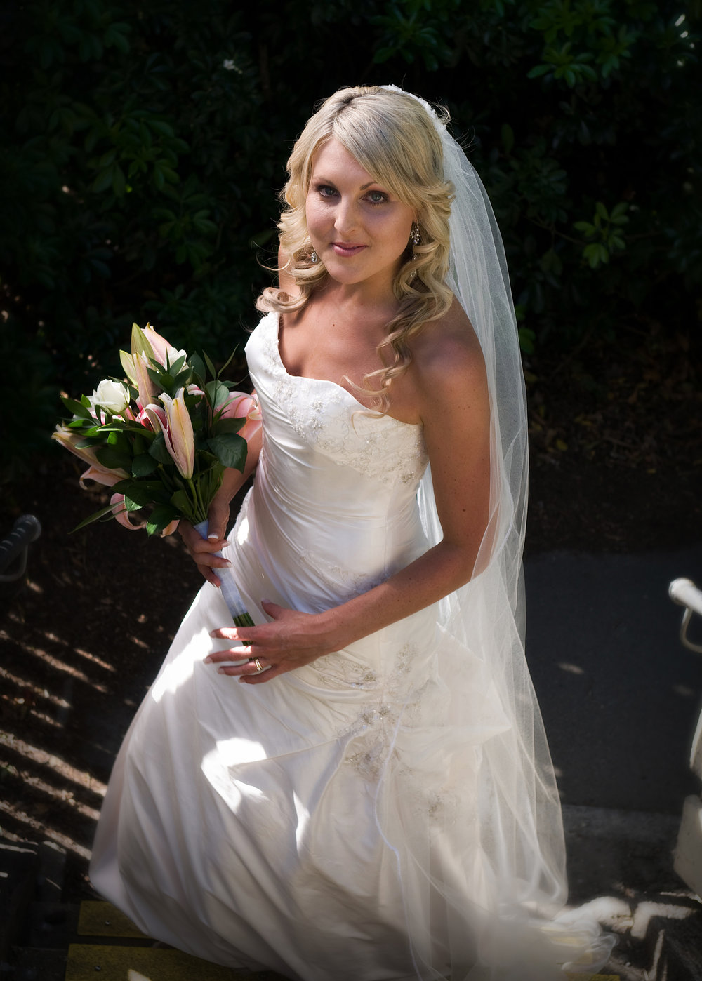 Sara-Jayne - silk dupion - Christchurch Bridal - Tracey Alsopp Photography