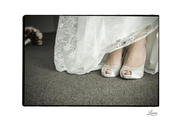 Rebecca - silk satin crepe, lace - Christchurch bride - Lumo Photography