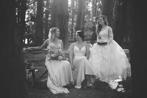 Woodland collaborative shoot, past brides - Johanna Macdonald Photography