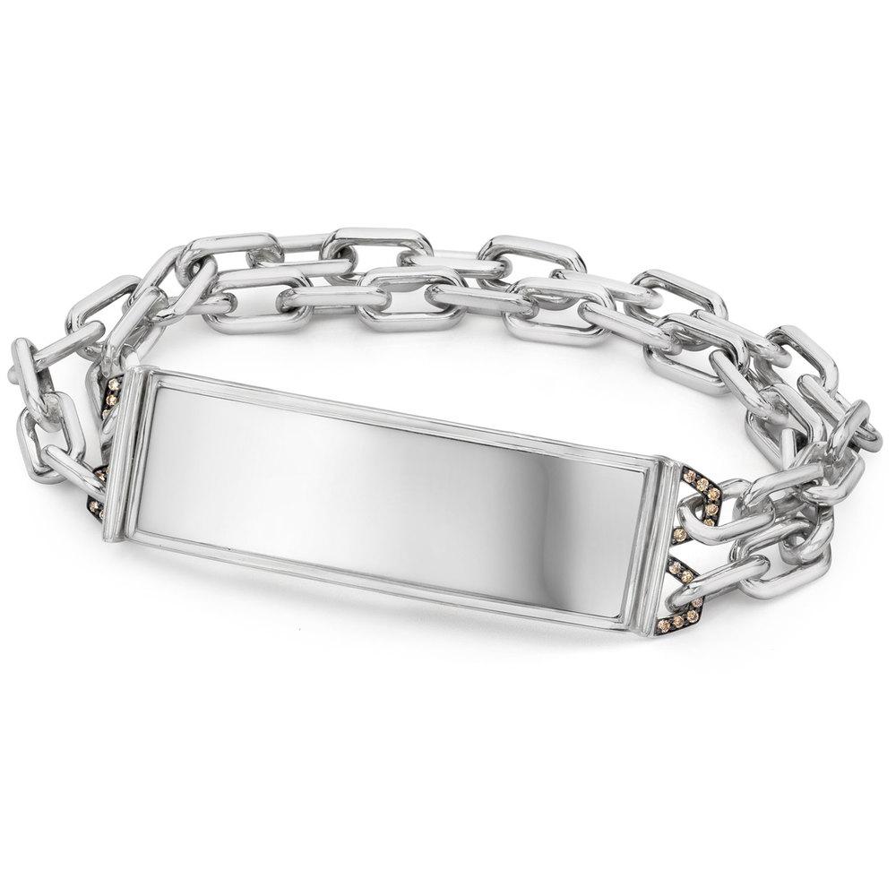 Walters Faith Carrington 2 Id Bar Double Row Chain Bracelet AQnvQita