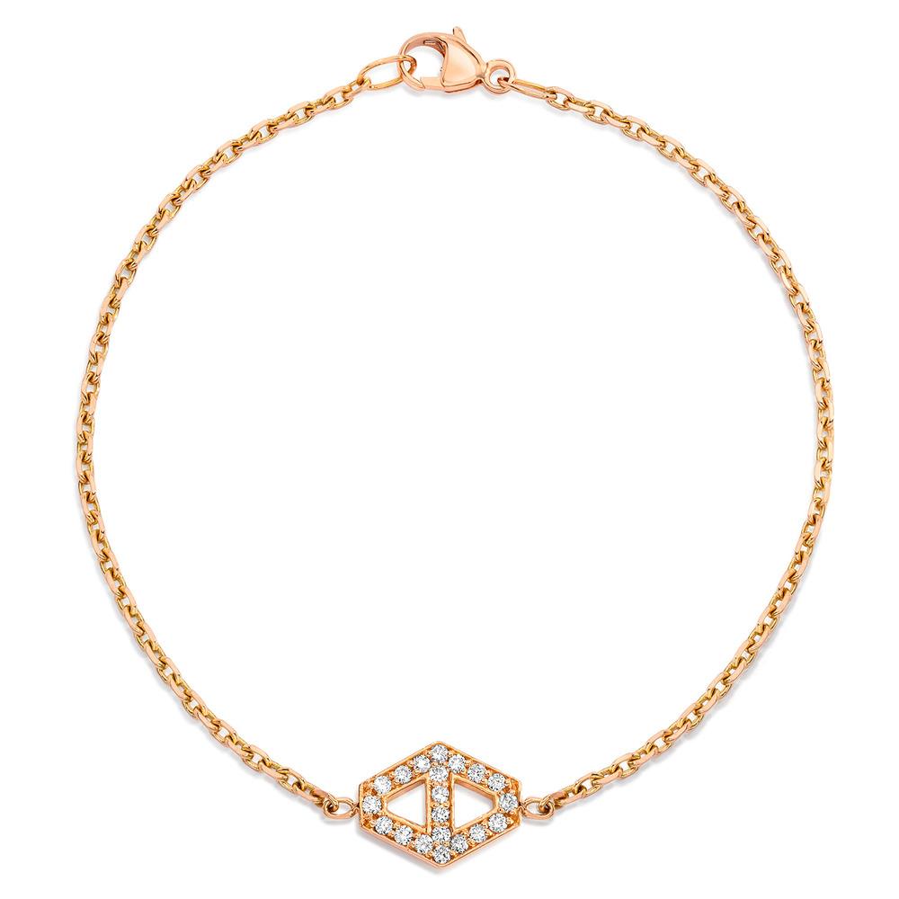 Walters Faith Keynes Medium Signature Silver Hexagon Bracelet Pd4vh