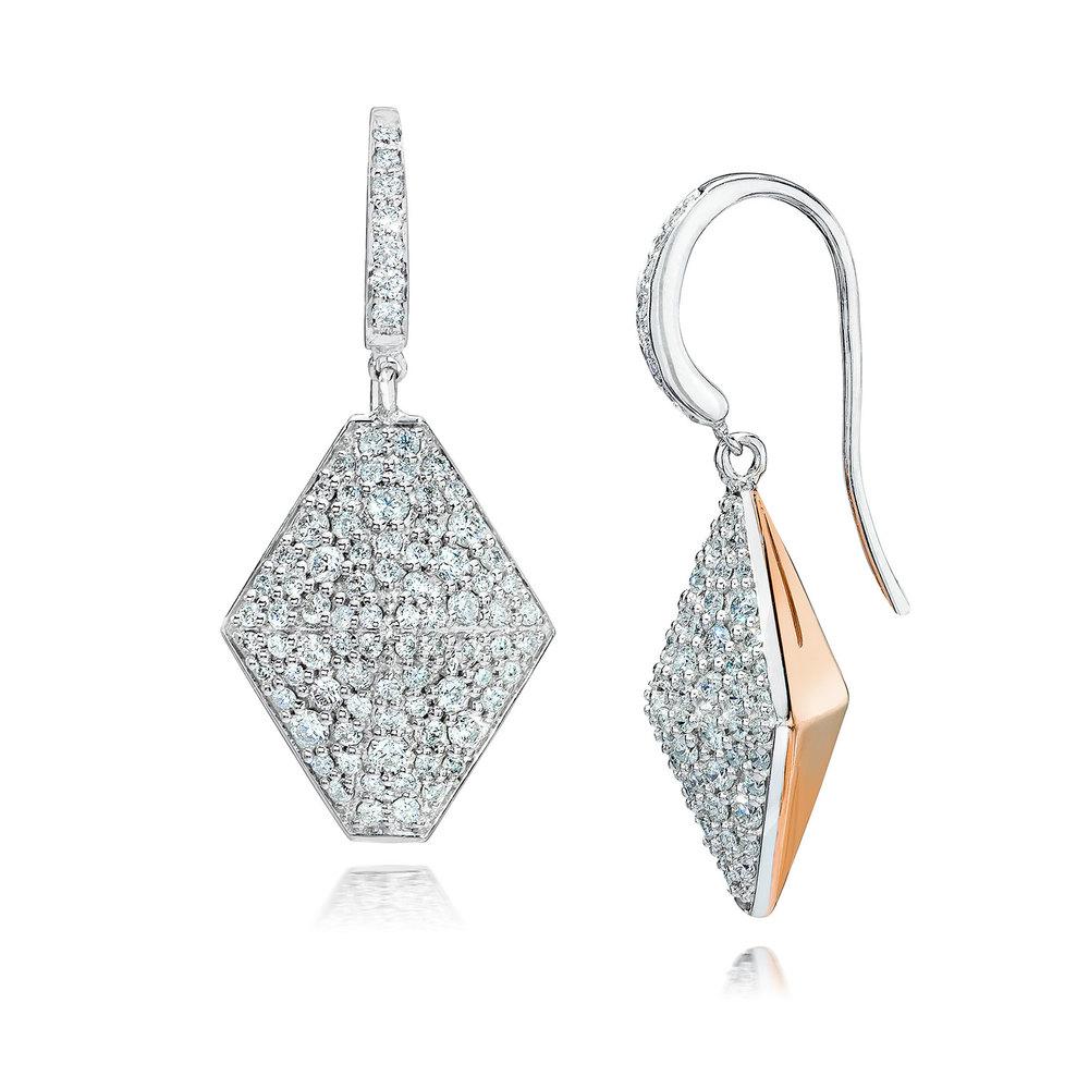 Walters Faith Sydney 18K Mini Origami Stud Earrings H0wFtDEX