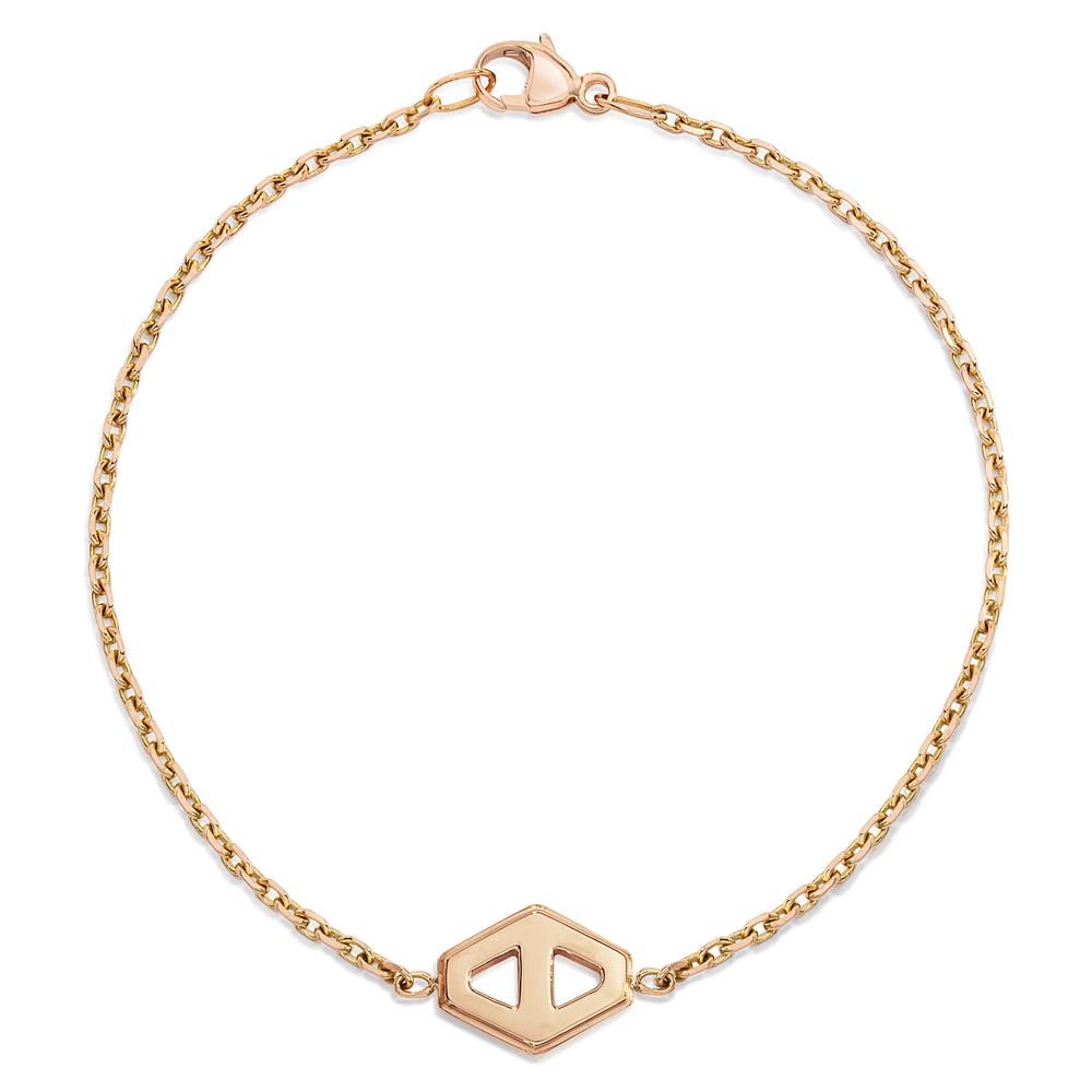 Walters Faith Keynes 18K Two Tone Small Signature Hexagon Diamond Element Bracelet R5m87ARrF1