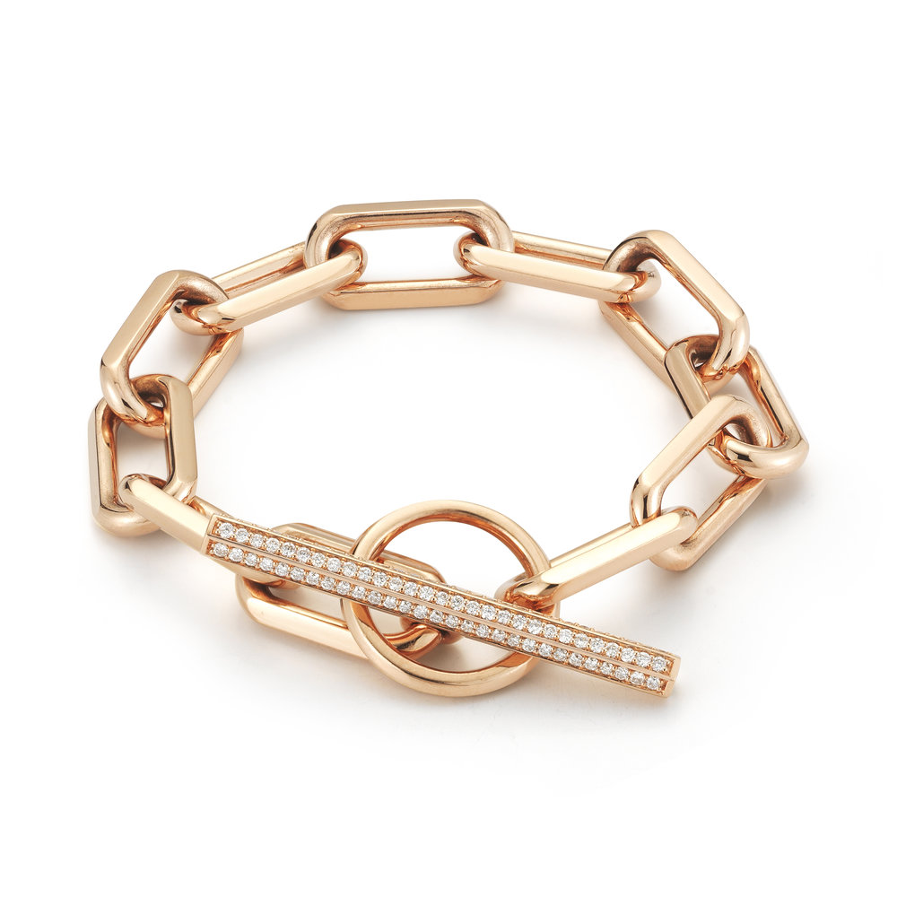 Walters Faith Saxon Jumbo Chain Link Toggle Bracelet