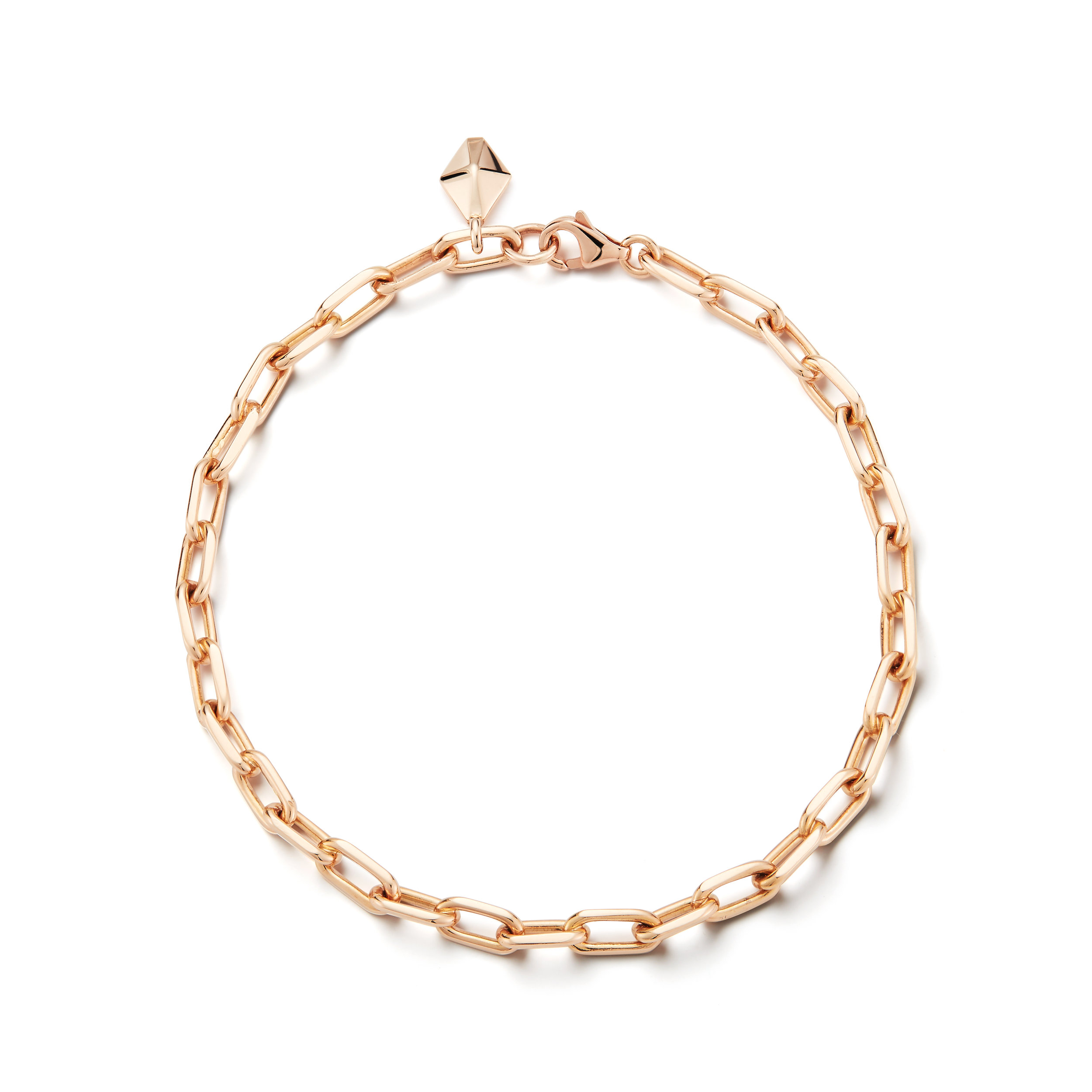 Walters Faith Saxon 18K Elongated Chain Link Bracelet ta3vASI