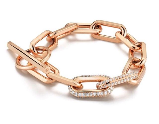 Rose Gold & Diamond Links on this beautiful Spring Day • @copious_row •