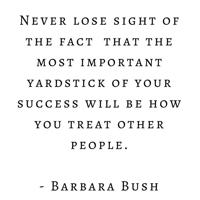 Wednesday Wisdom • #barbarabush