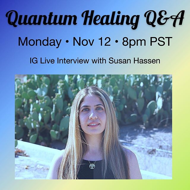 I'll be on IG live tonight with @krissyabooboo at 8pm PST answering anything you want to know about Quantum Healing, the Higher Self, and any questions you have for me about what I do in my healing sessions. Can't wait to connect! You can submit your questions for me now in the comments below ⬇️ and I'll answer as many as I can tonight ✨💜✨ See you soon! 🔮
