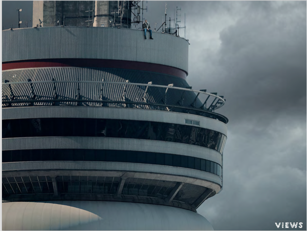 The album art for  Views