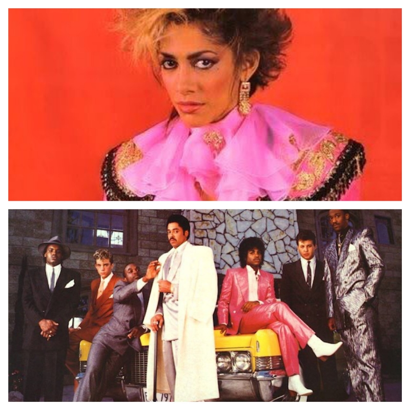 Top: Sheila E;Bottom: Morris Day and the Time