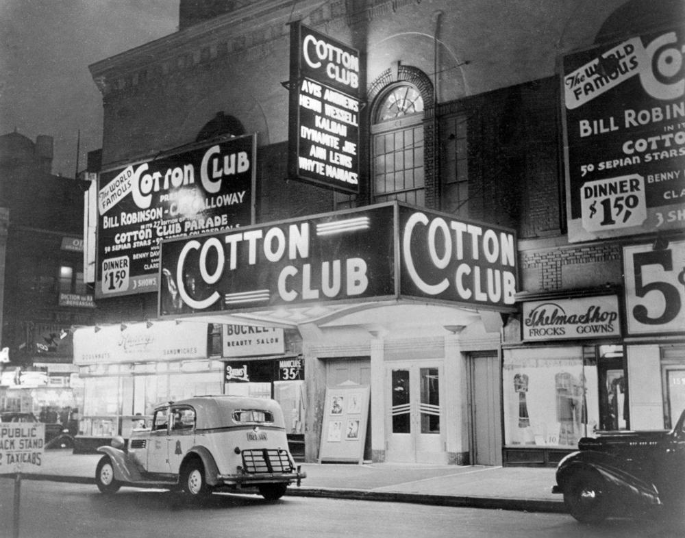 The legendary Cotton Club in Harlem, New York