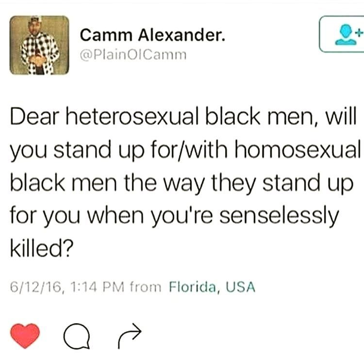 The tweet that sparked the outrage on social media. Since then, Camm Alexander has announced he has received messages via Facebook about this tweet.
