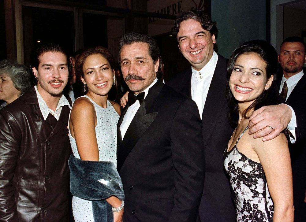 The cast and director, Gregory Navo, on the red carpet of the movie's premiere.
