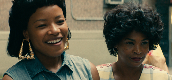 Chante Adams and Nia Long (who portrays Shante's mother). (Source: Netflix)
