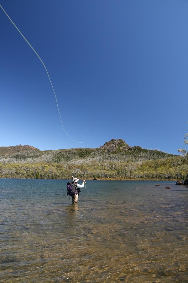 Rainbow Lodge  - polaroiding in the Western Lakes